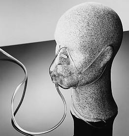 Sauerstoffmaske für Erwachsene mit 213 cm Schlauch