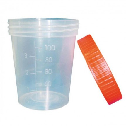 Urine-Cup with screw top