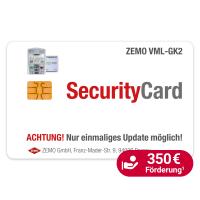 ZEMO VML-Security Card, Update auf die Firmware 3.1.0