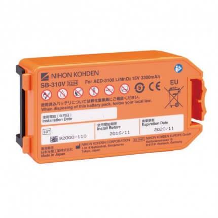 Cardiolife AED-3100 Langzeit-Einwegbatterie