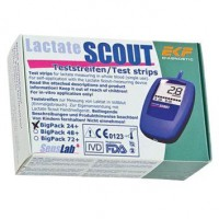 EKF Diagnostics Lactate Scout Testreifen Big Pack