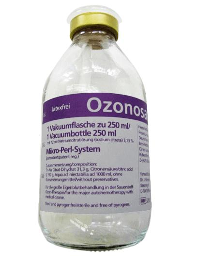 Vakuumflasche mit Na-Citrat