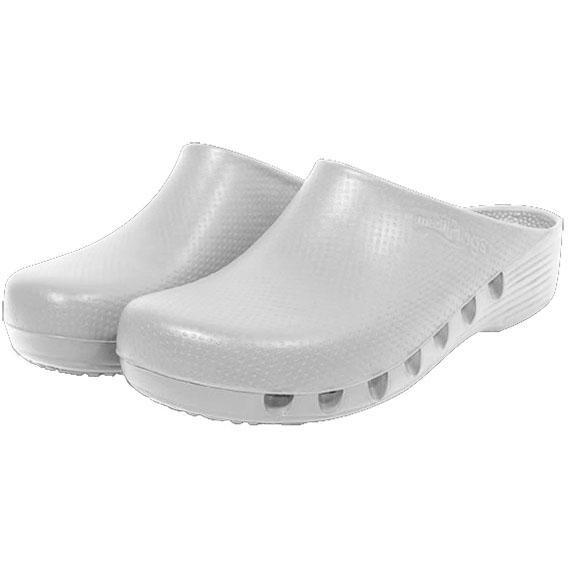 mediPlogs weiße OP-Schuhe