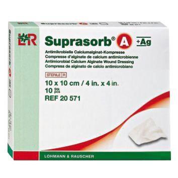 Suprasorb A + AG Kompressen