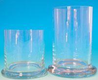 Glaszylinder mit Deckel
