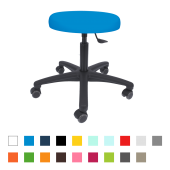 Sanarest Drehrollhocker mit Kunststoff-Fußkreuz