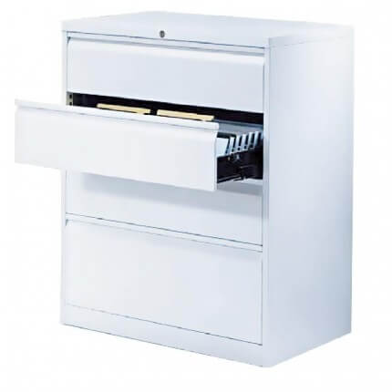 File Card Cabinet with Grip Molding