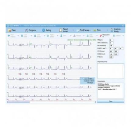 ECG-1000 Datenmanagement-Software