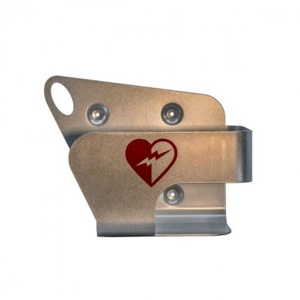 Wandhalterung aus Metall für HeartStart AED