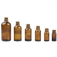 Rosa Heinz Braunglas Allround Laborflasche