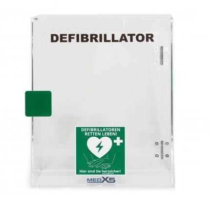 Wandkasten für MedX5 HeartSine Defibrillator