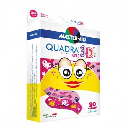 Quadra 3D Kinderpflaster
