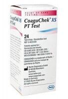 Roche CoaguChek XS PT Test Teststreifen