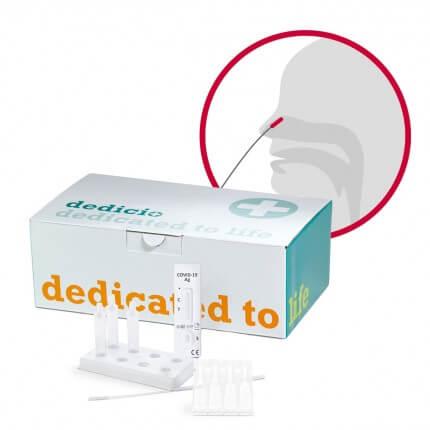 dedicio COVID-19 AG plus Test
