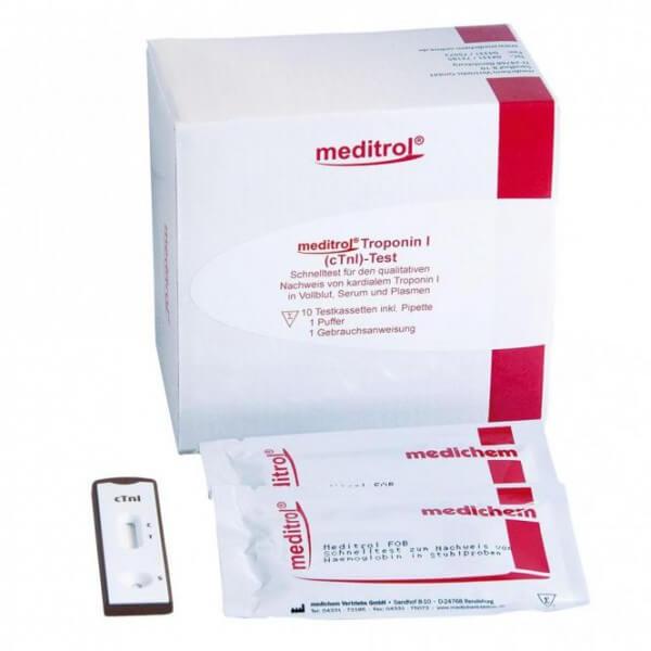 Meditrol Troponin I (cTnl) Schnelltest