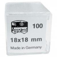 Hecht-Assistent Haemacytometer-Deckgläser