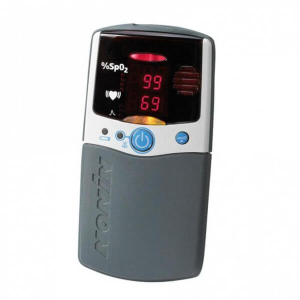 2500A PalmSat Pulsoximeter mit Fingerclipsensor