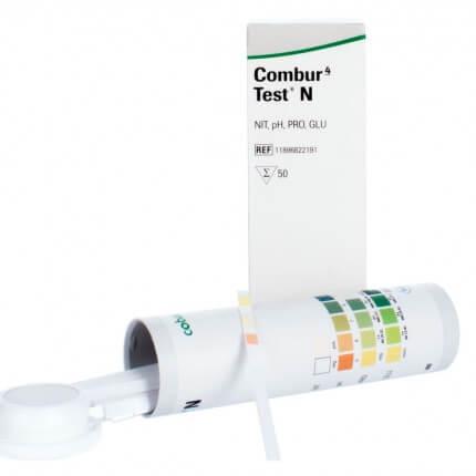 Bandelettes de test urinaire Combur