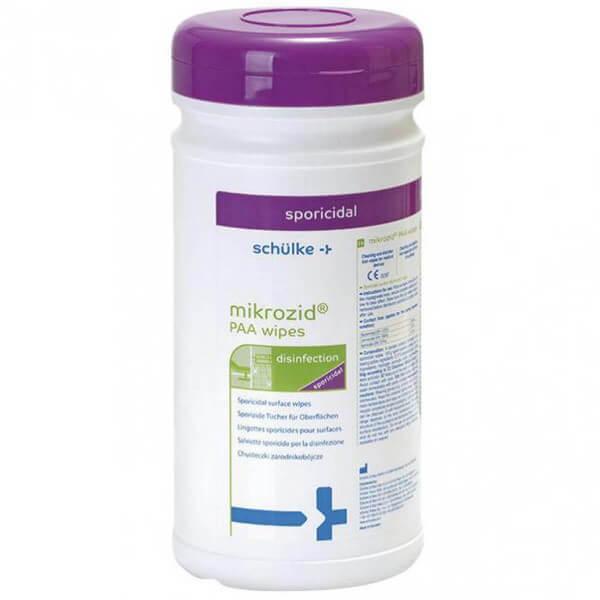 mikrozid PAA wipes