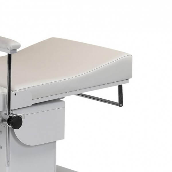 Papierrollenhalter für EKG-Liege