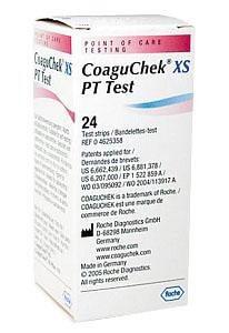 CoaguChek XS PT Test Teststreifen